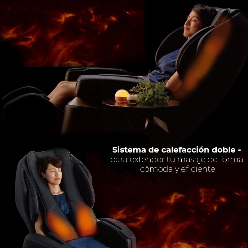 Sistema de calefacción doble