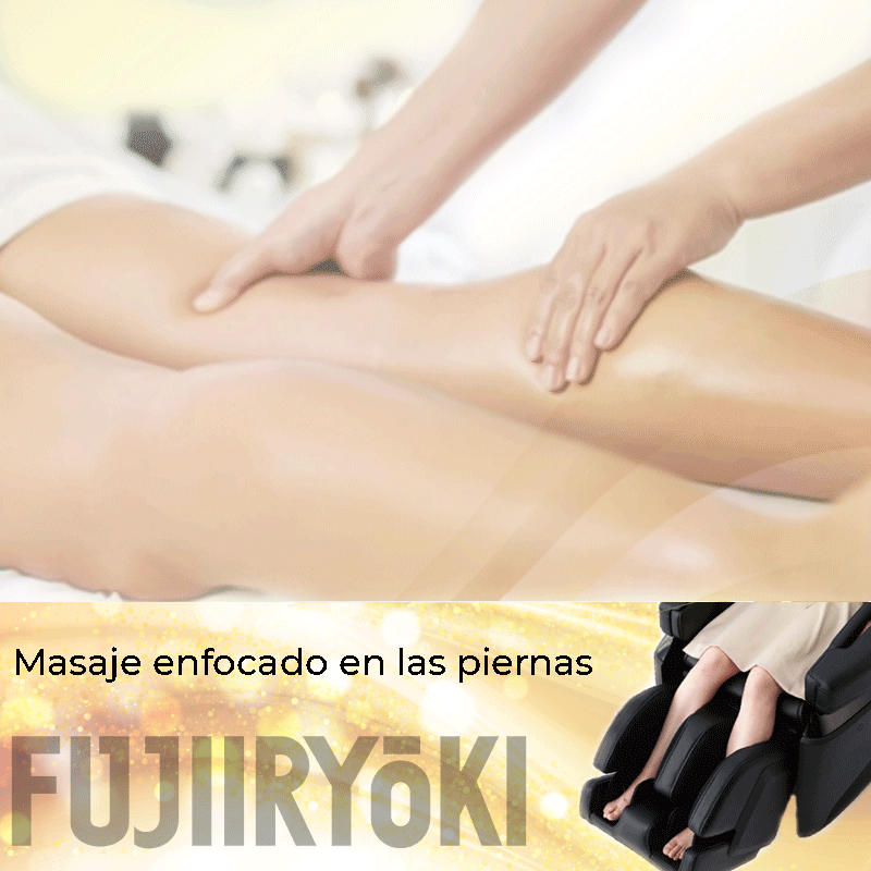 Masaje enfocado en las piernas