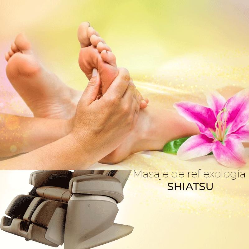 Masaje de reflexología SHIATSU