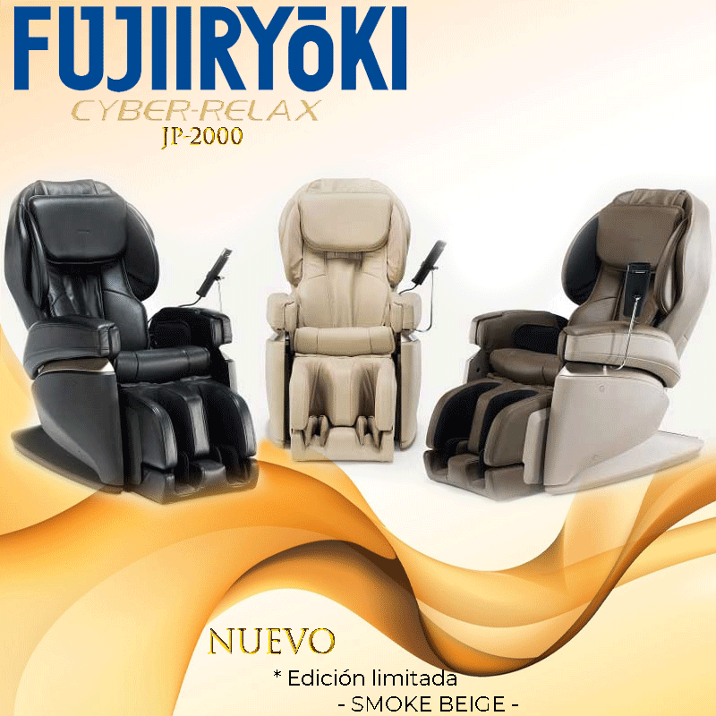 Características del sillón de masaje Fujiiryoki JP-2000