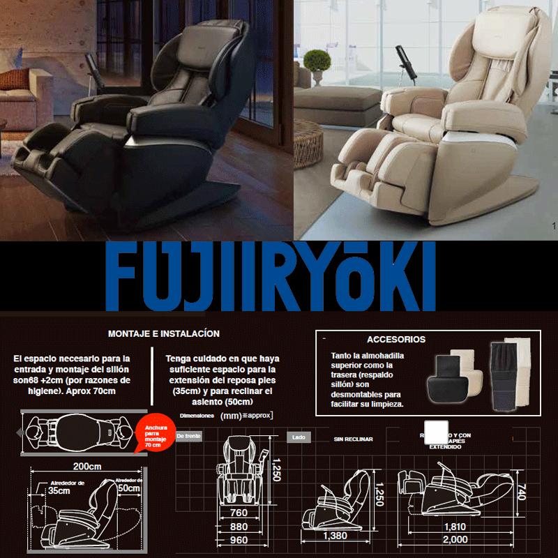Sillión de masaje Fujiiryoki Cyber Relax JP-2000