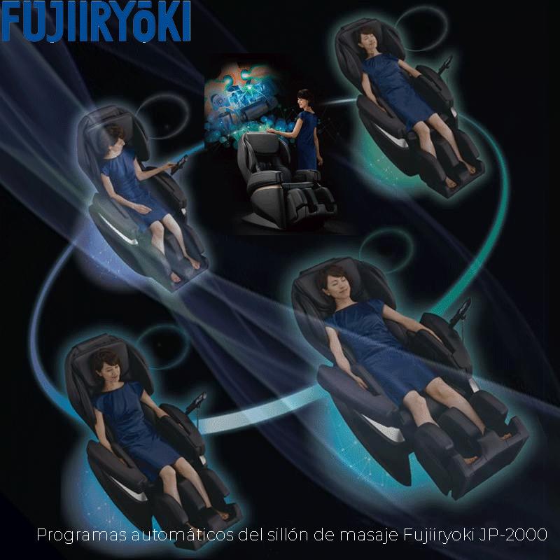 Programas automáticos del sillón de masaje Fujiiryoki JP-2000
