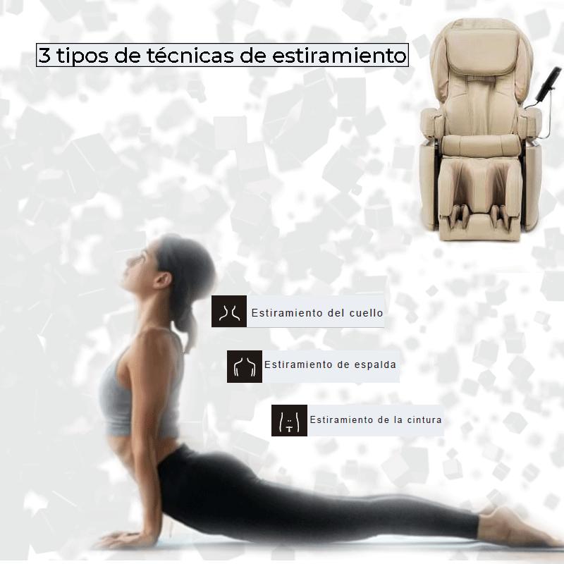 3 tipos de técnicas de estiramiento