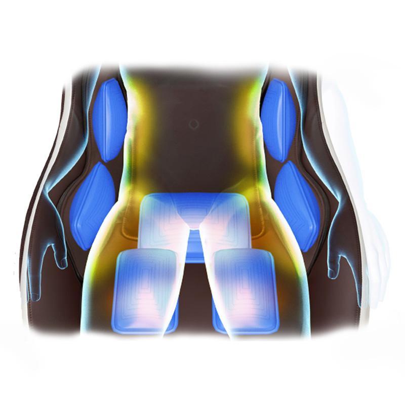 Masaje de espalda en 3D